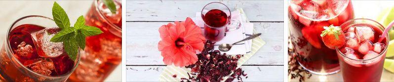 студен чай хибискус мента