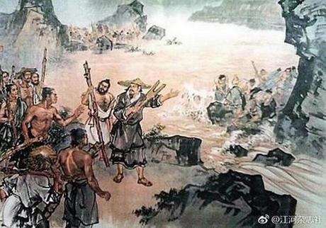 Легендата за китайската династия Ся и големите наводнения