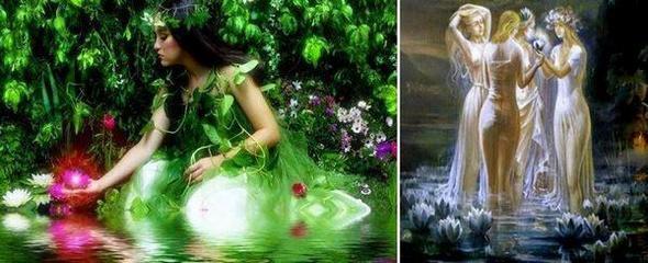 Легендарните самодиви са красиви женски духове