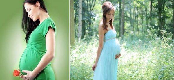 Съновник бременност: Положителен тест