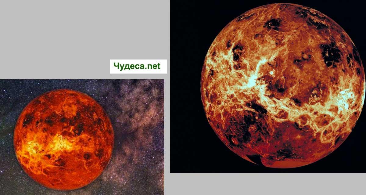 Венера и зодии. Когато планетата минава през 12-те зодиакални знаци