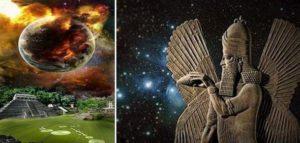 Според древните легенди на щумерите, произходът на човечеството е от космоса от мистичните извънземни същества анунаки. Тази теория не се потвърждава от съвременната наука!