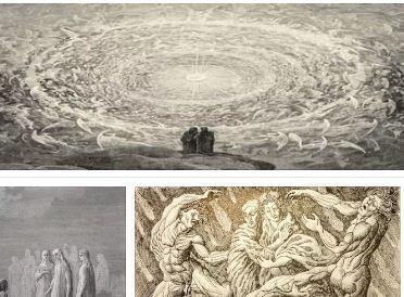 Как изглежда адът при Данте и в християнството. Как е устроен?