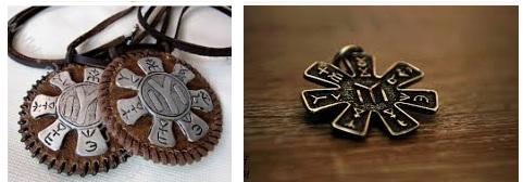 медальон с розетата от Плиска