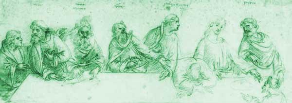 Тайната вечеря- 78, Шифърът на Леонардо да Винчи - 10