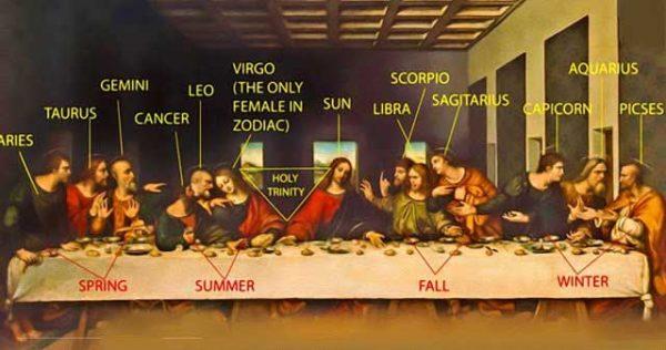 Тайната вечеря - 6, Шифърът на Леонардо да Винчи - 10