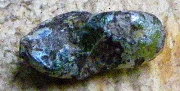 Либийско пустинно стъкло - метеорит тектит