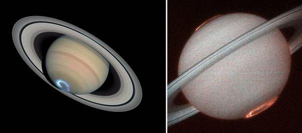 Северно сияние на Сатурн