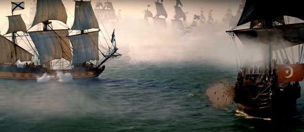 Екатерина Велика – кадри от филма за войните с Турция