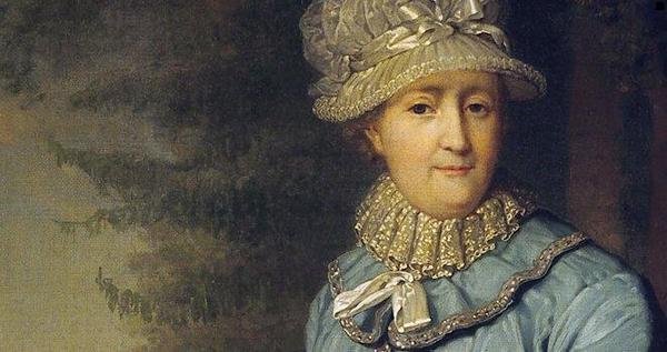 Екатерина Велика – портрети. Тя е починала на 6.11.1706 г.