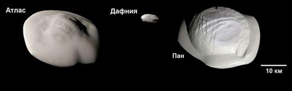 Вътрешните сателити на Сатурн