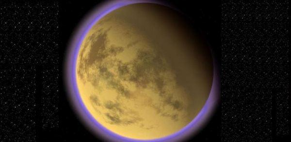 Диаметърът на Титан е 5152 км
