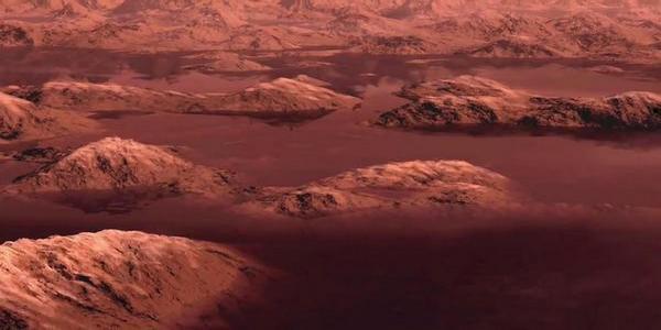 Снимки на повърхността на Титан от сондата Хюйгенс сн. 2
