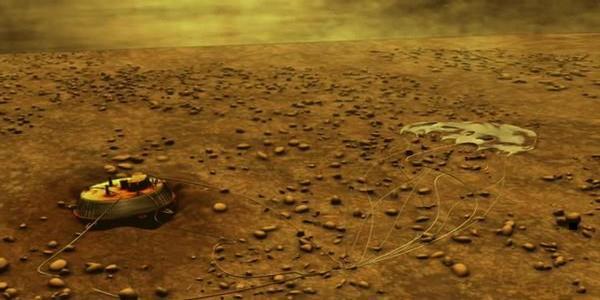Снимки на повърхността на Титан от сондата Хюйгенс сн. 3