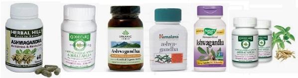 Лечение с индийски женшен, ашваганда